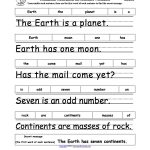 Unscramble The Sentences | Earth Week | Earth Day Crafts, Earth Day   Free Printable Scrambled Sentences Worksheets