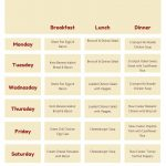 Use This Printable Keto Diet Meal Plan To Help You Get Started On   Free Printable Meal Plans For Weight Loss