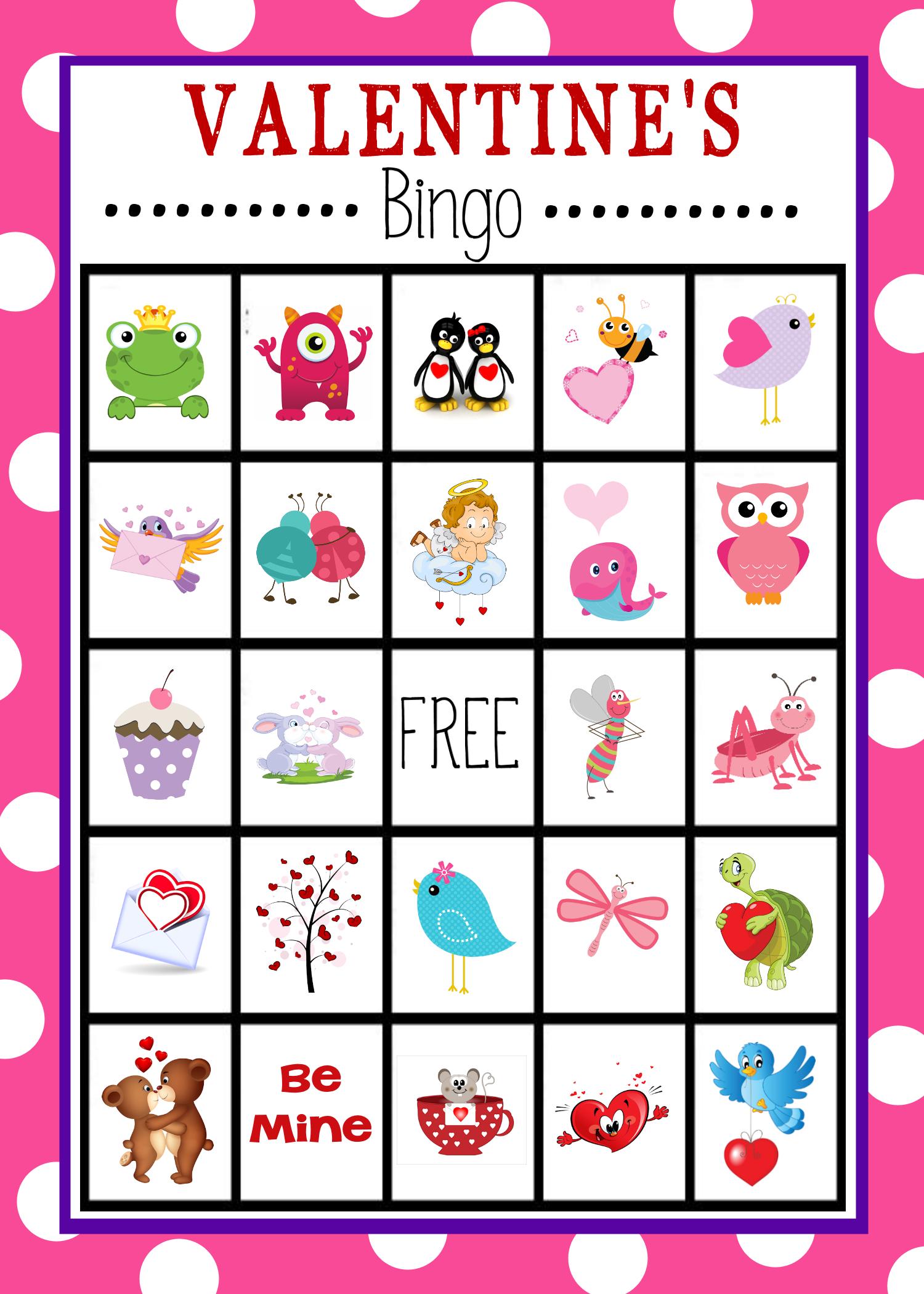 Valentine's Bingo Game To Print & Play | Valentine's Day Activities - Valentines Bingo Cards Free Printable