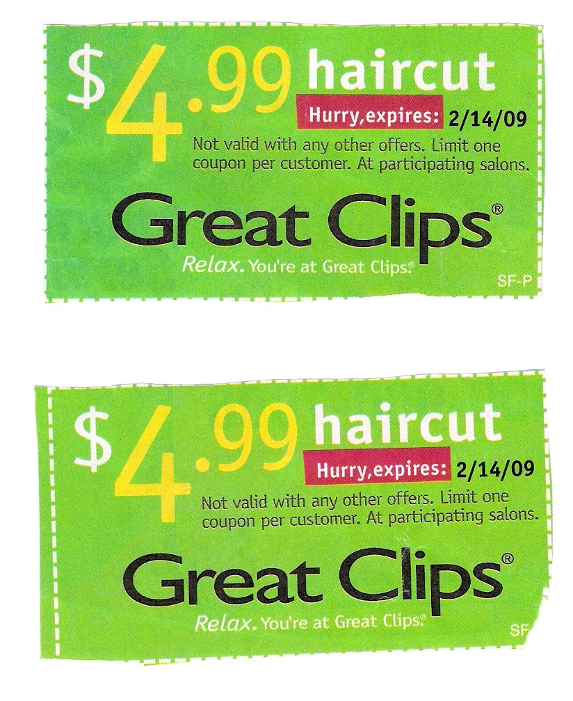 Valpak Great Clips Coupon - New Discounts - Great Clips Free Coupons Printable