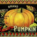 Vintage Halloween Clip Art   Pumpkin Label   The Graphics Fairy   Free Vintage Halloween Printables
