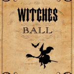 Vintage Halloween Printable   The Witches Ball | Halloween   Free Vintage Halloween Printables