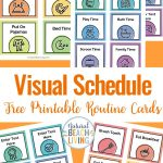 Visual Schedule   Free Printable Routine Cards   Natural Beach Living   Free Printable Picture Cards