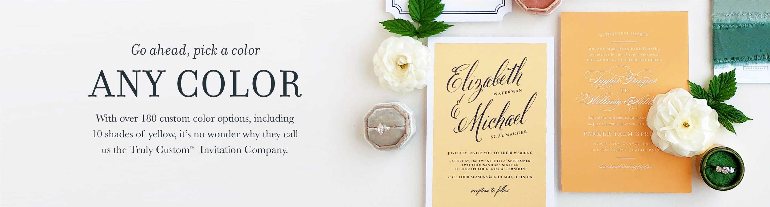 Wedding Invitations | Match Your Color & Style Free! - Wedding Invitation Cards Printable Free
