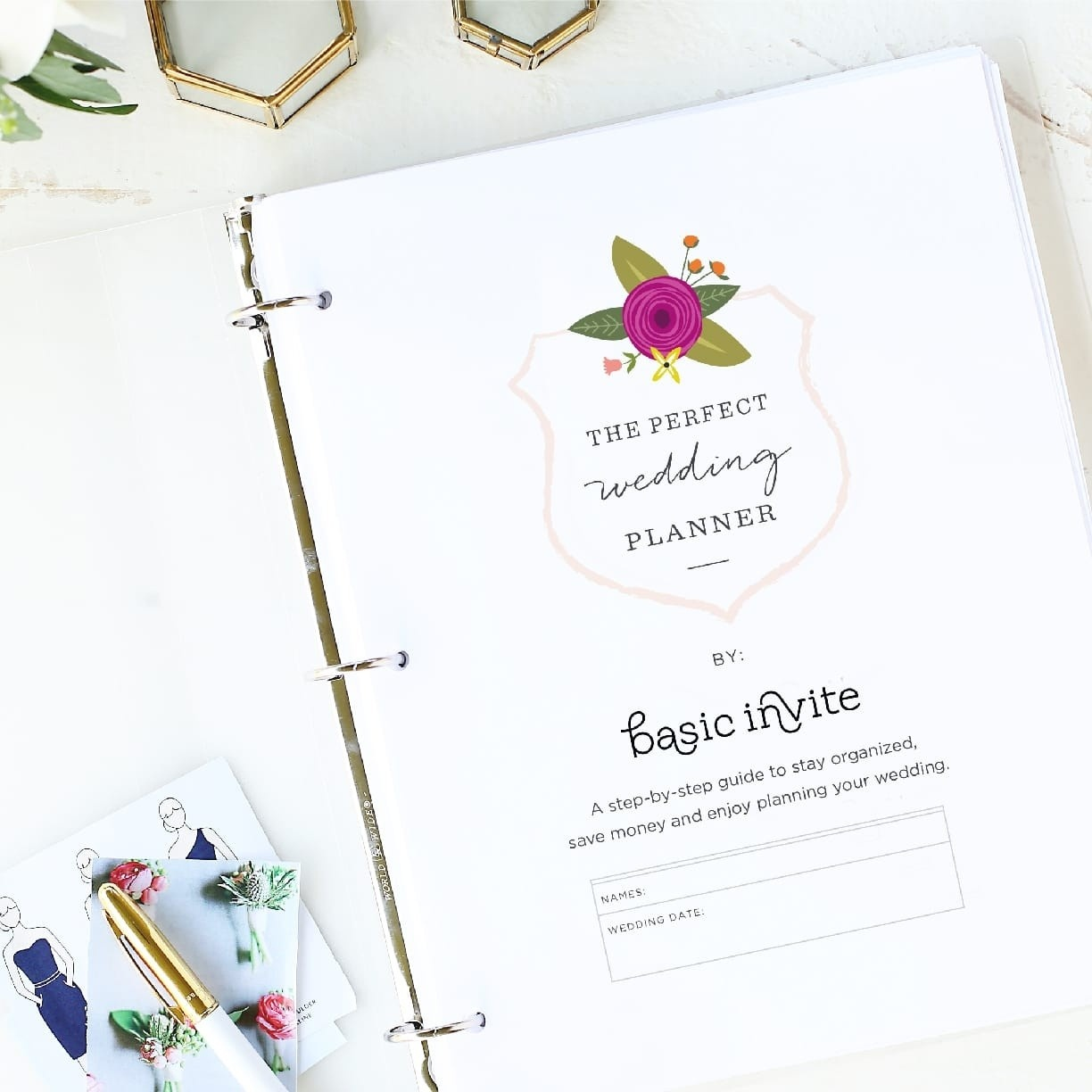 Wedding Planner Printablebasic Invite - Free Printable Enclosure Cards