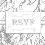 Wedding Rsvp Postcard Template. Printable. Rsvp Postcard Etsy   Free Printable Rsvp