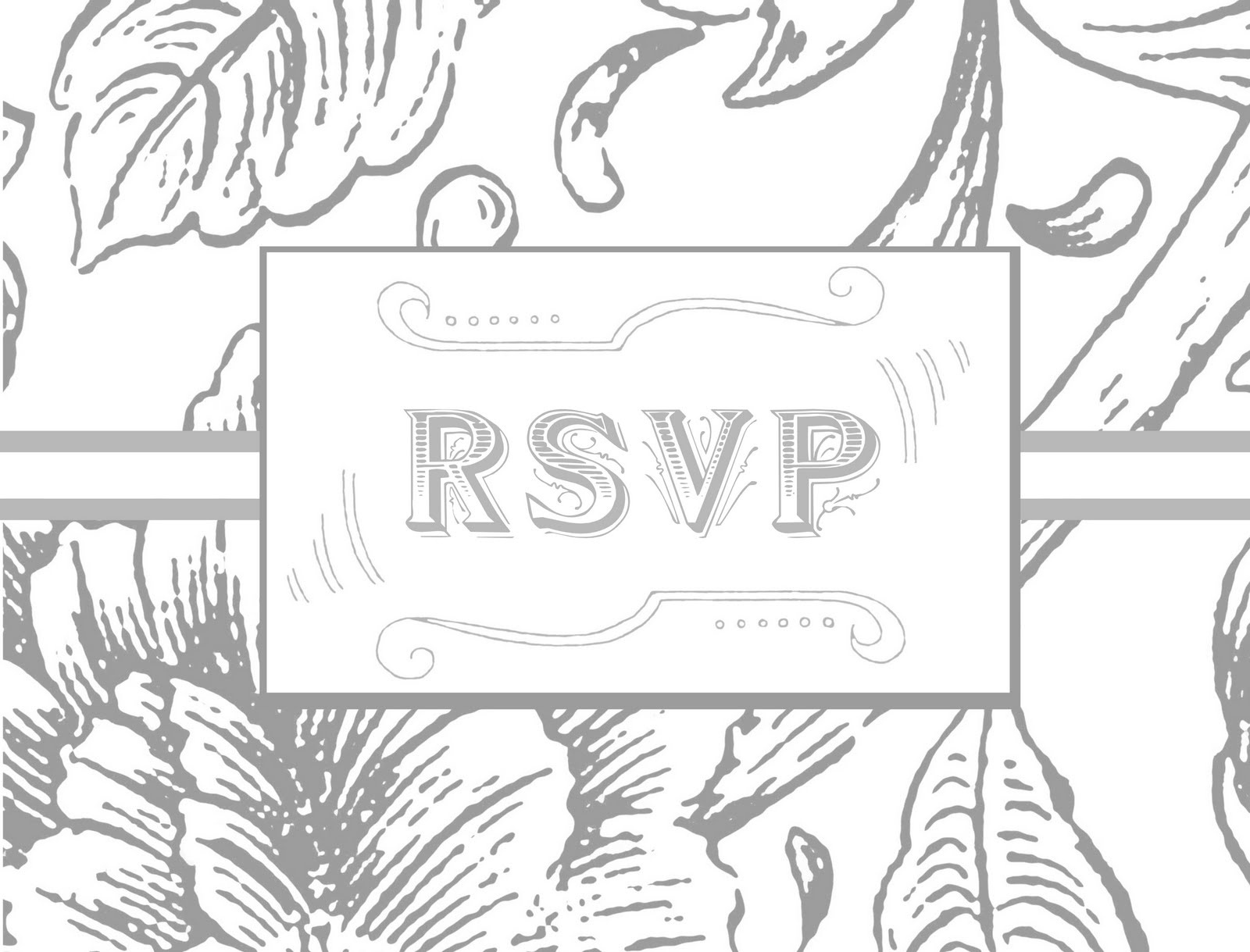 Wedding Rsvp Postcard Template. Printable. Rsvp Postcard Etsy - Free Printable Rsvp