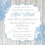 Wedding Shower Invitation Template Free Printable Bridal Shower   Free Printable Bridal Shower Invitations Templates