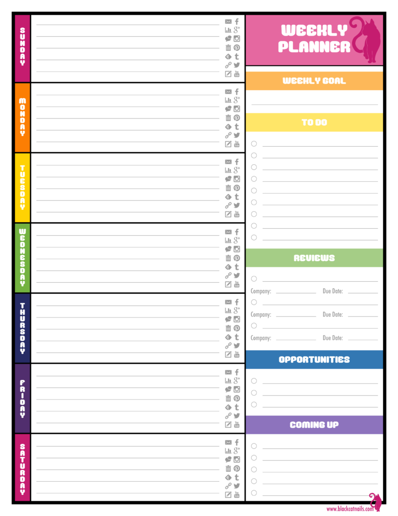 Weekly Planner Template Word Best Agenda Templates Co02Swht - Free Printable School Agenda Templates