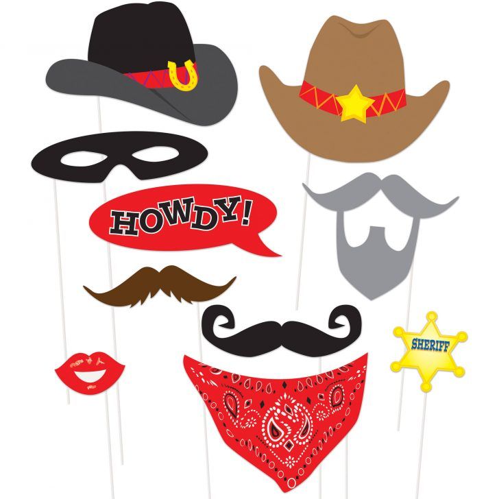 Free Printable Western Photo Props