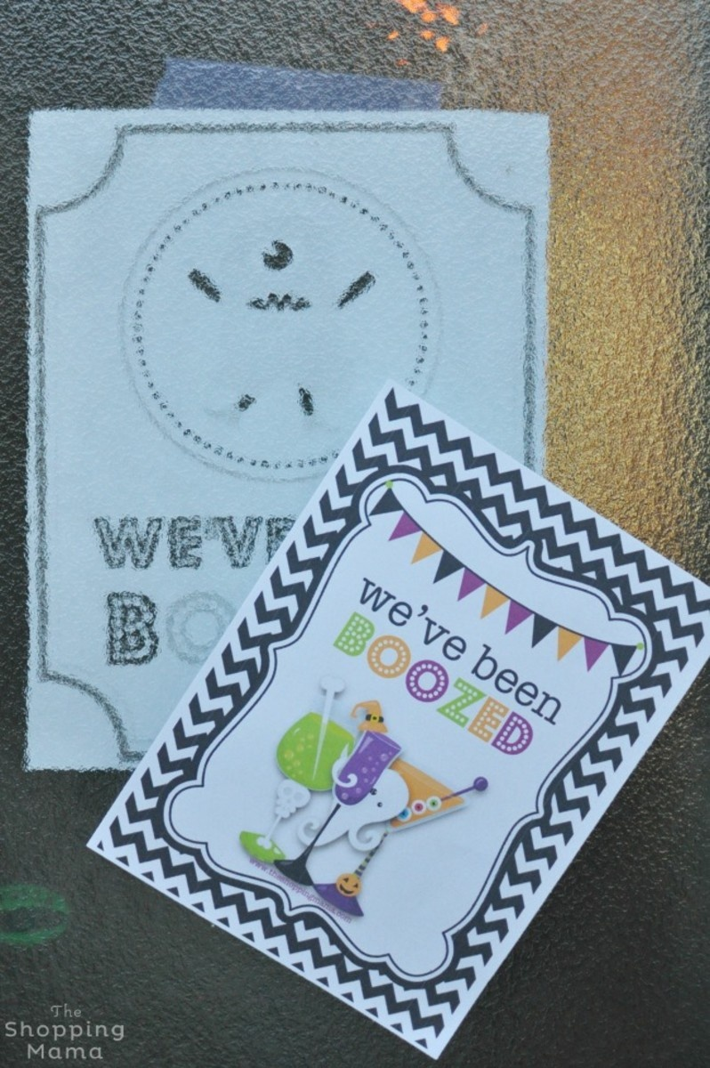 We've Been Boozed! {Free Printable} - Momtrends - You Ve Been Boozed Free Printable
