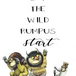"""Where The Wild Things Are"""" Party & Printables   The Okie Home   Where The Wild Things Are Printables For Free"""