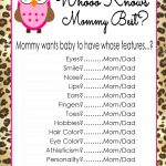 Who Knows Mommy Best Free Printable (81+ Images In Collection) Page 2   Who Knows Mommy And Daddy Best Free Printable