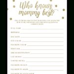 Who Knows Mommy Best Free Printable (81+ Images In Collection) Page 2   Who Knows Mommy Best Free Printable