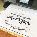 Wifi Network And Password Sign   Free Printable Download!   Free Printable Wifi Password Template