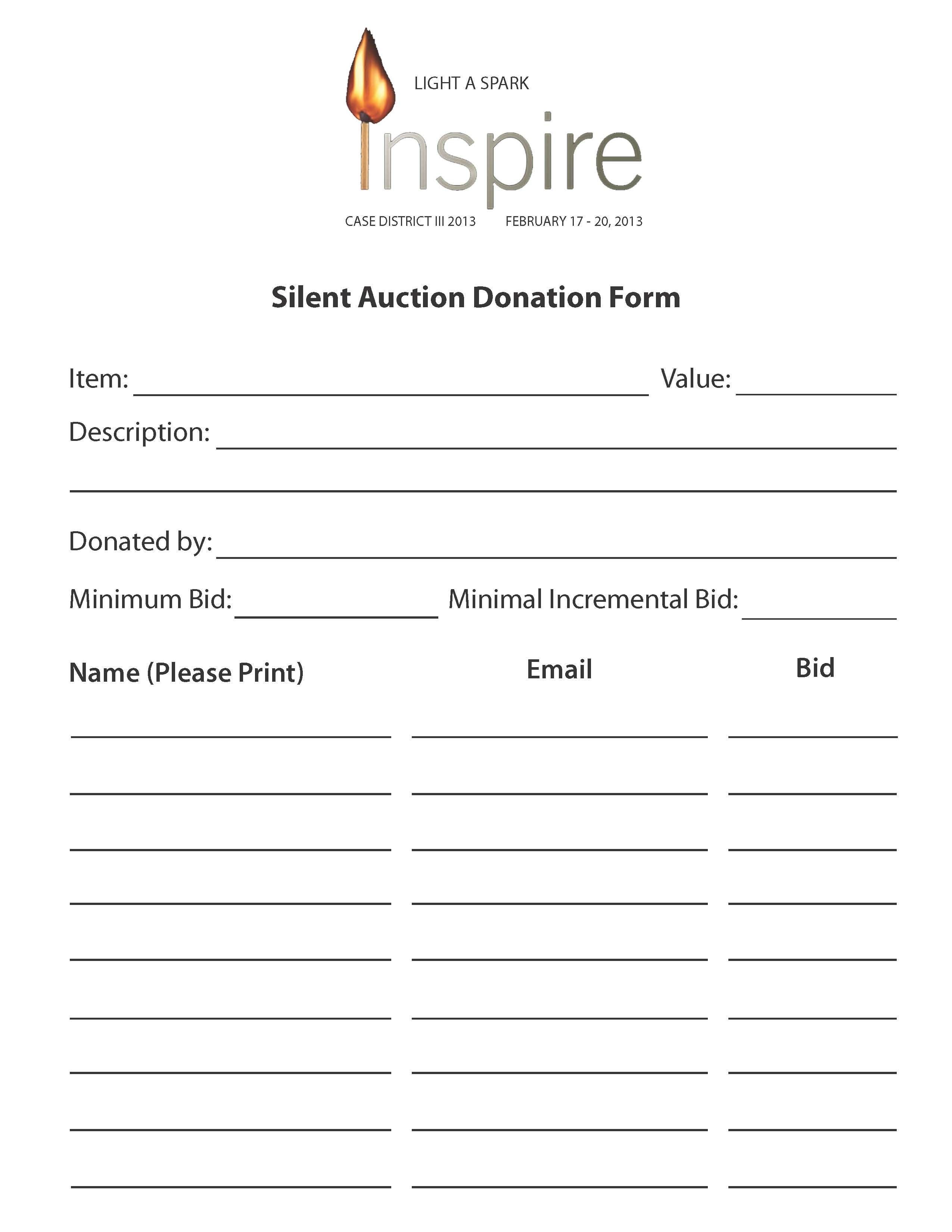 Wiitradwieri36/content/printable Silent Auction Bid Sheet 6891816 - Free Printable Silent Auction Templates