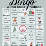 Winter Activities Bingo Game Printable   A Mom's Take   Winter Bingo Cards Free Printable