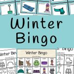 Winter Bingo   Fun With Mama   Winter Bingo Cards Free Printable