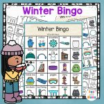 Winter Bingo Game   Fun With Mama   Winter Bingo Cards Free Printable