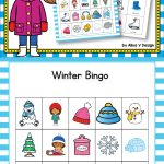 Winter Bingo Game   Winter Activities For Kindergarten | Alina V   Winter Bingo Cards Free Printable