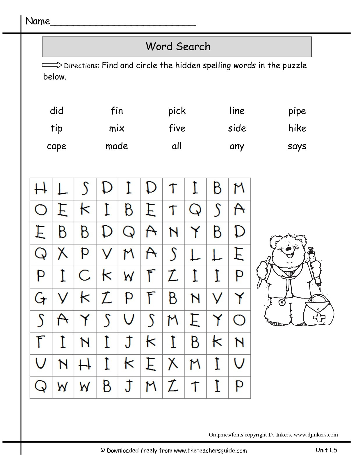 Wonders Second Grade Unit One Week Five Printouts - Free Printable Science Worksheets For 2Nd Grade