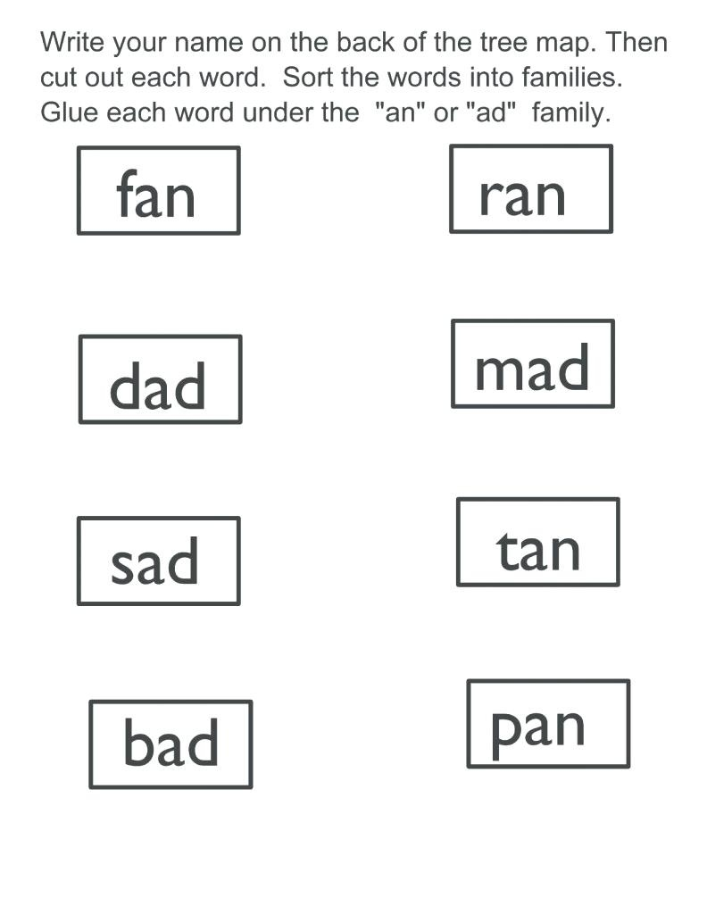 Word Family Poems Fat Cat An At Word Family Poem And Mini Lesson - Free Printable Word Family Poems