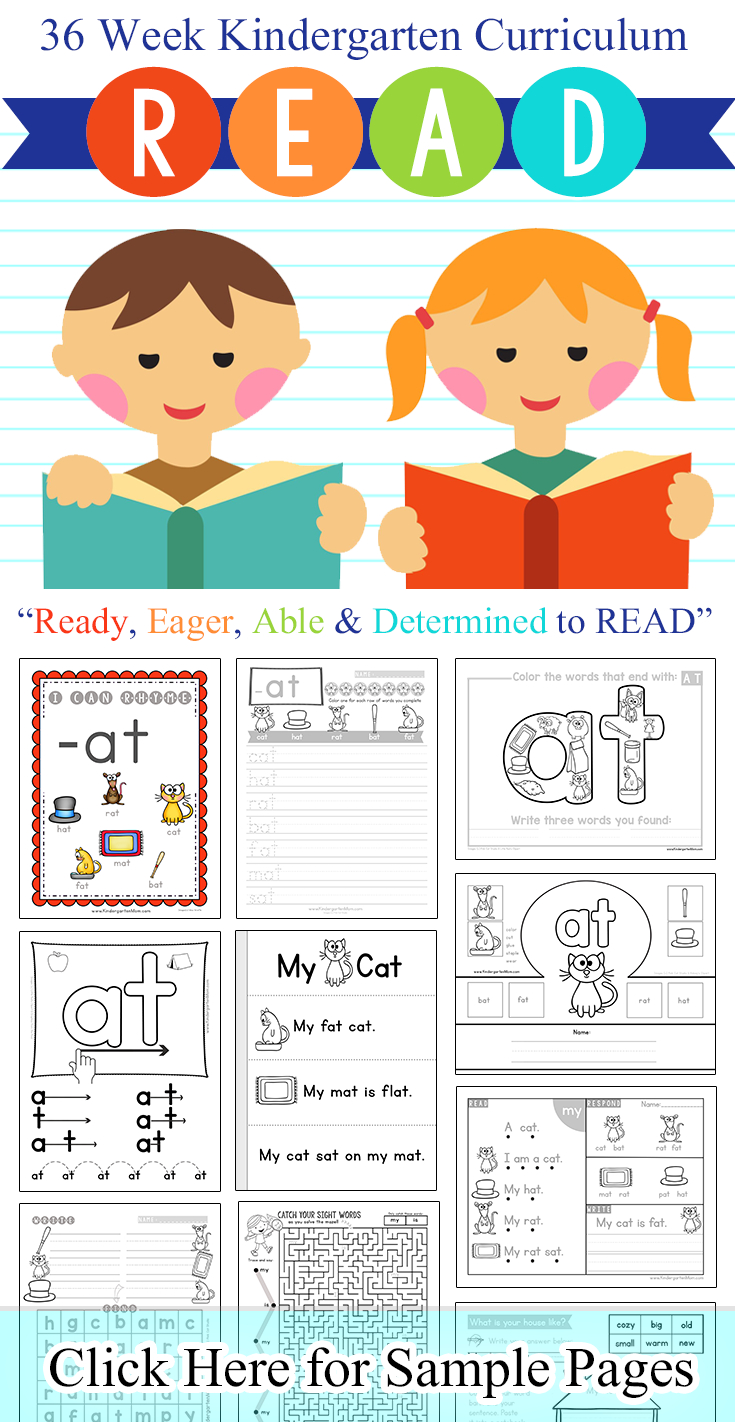 Word Family Printables - Kindergarten Mom - Free Printable Word Family Games