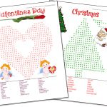 Word Search Maker | World Famous From The Teacher's Corner   Christmas Find A Word Printable Free