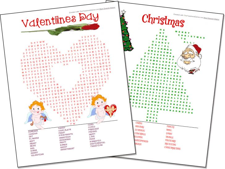Free Printable Word Searches Hard