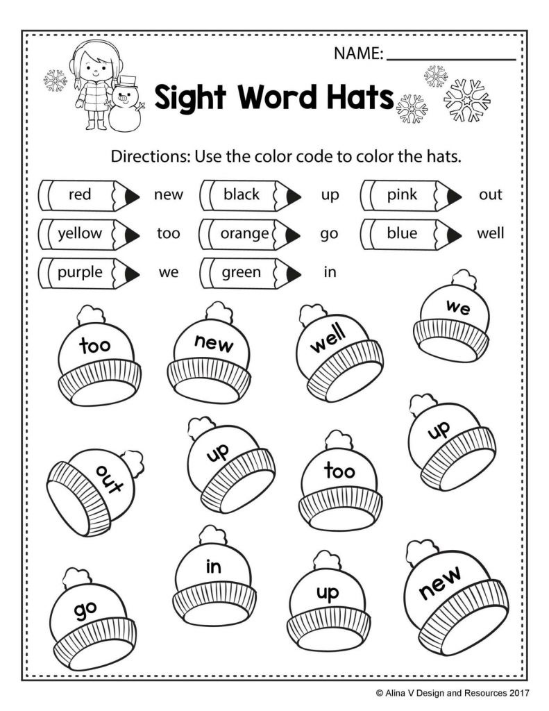 Worksheet : Free Phonics Worksheets First Grade With Winter Literacy - Jolly Phonics Worksheets Free Printable