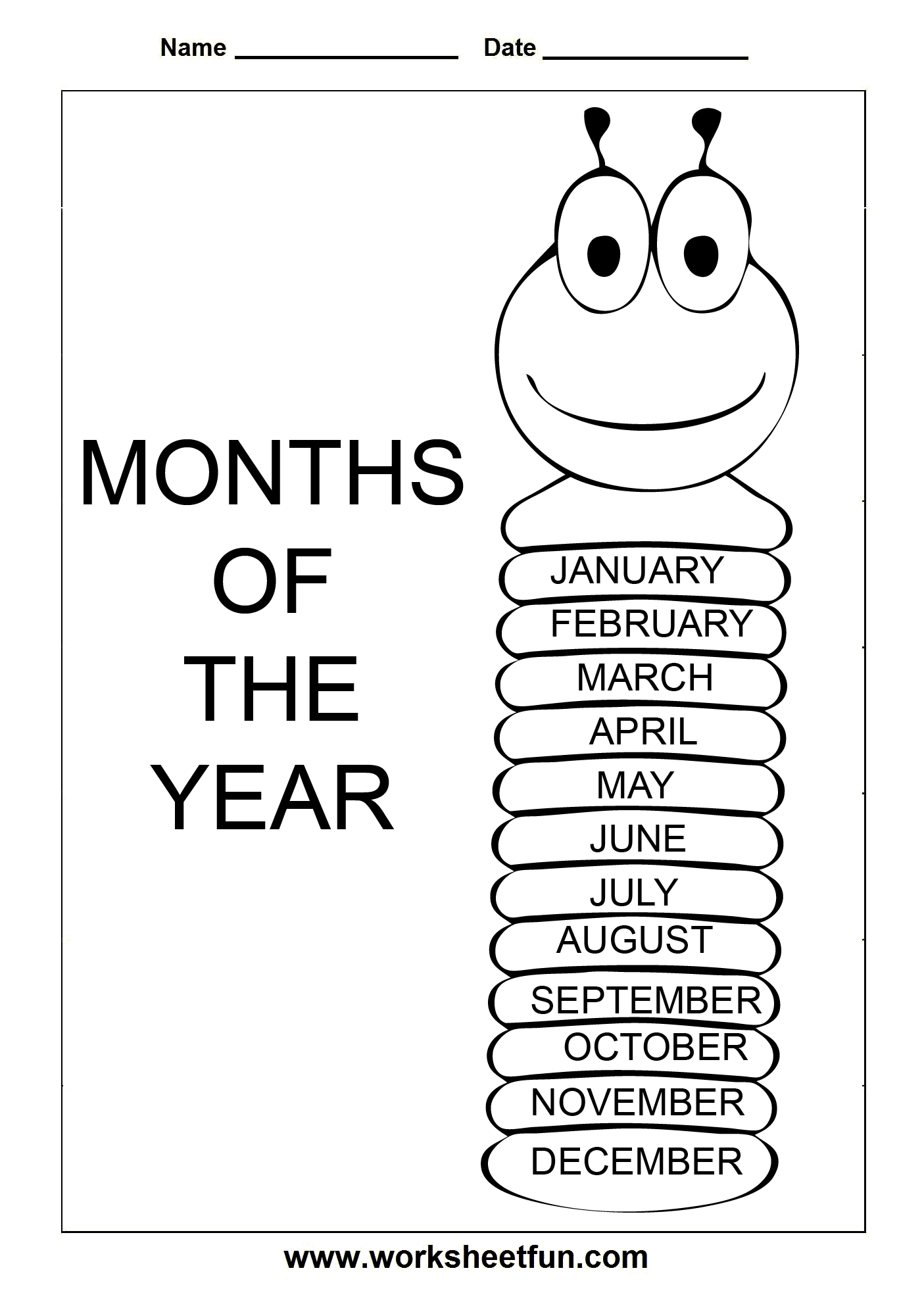 Worksheet : Months Of The Year Free Printable Worksheets L Spelling - Free Printable Spelling Worksheets For Adults