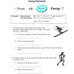 Worksheet : Potential And Kinetic Energy Worksheets For Kids Best   Free Printable Worksheets On Potential And Kinetic Energy