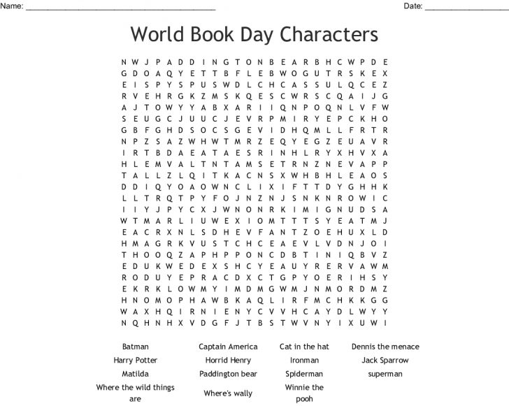Word Search Maker Free Printable