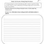 Writing Prompts Worksheets | Narrative Writing Prompts Worksheets   6Th Grade Writing Worksheets Printable Free