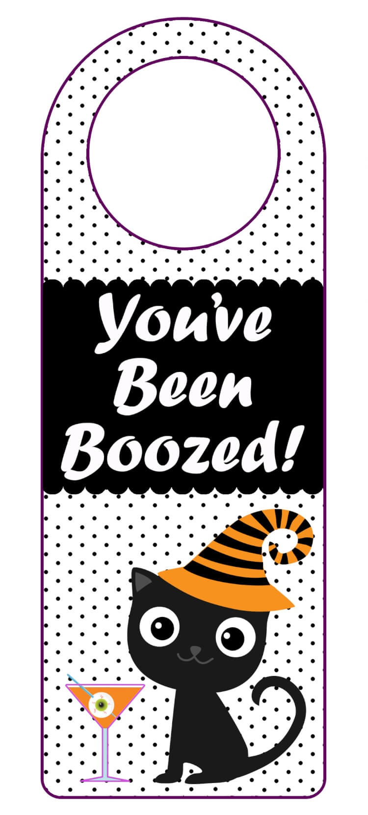 """You've Been Boozed"""" Printables - Happiness Is Homemade - You Ve Been Boozed Free Printable"""