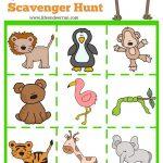 Zoo Scavenger Hunt Printable | Homeschool Resources | Zoo Preschool   Free Zoo Printables For Preschool