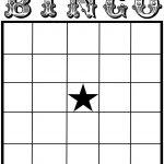002 Blank Bingo Card Template Ideas Stupendous Free Baby Shower   Bingo Generator Free Printable