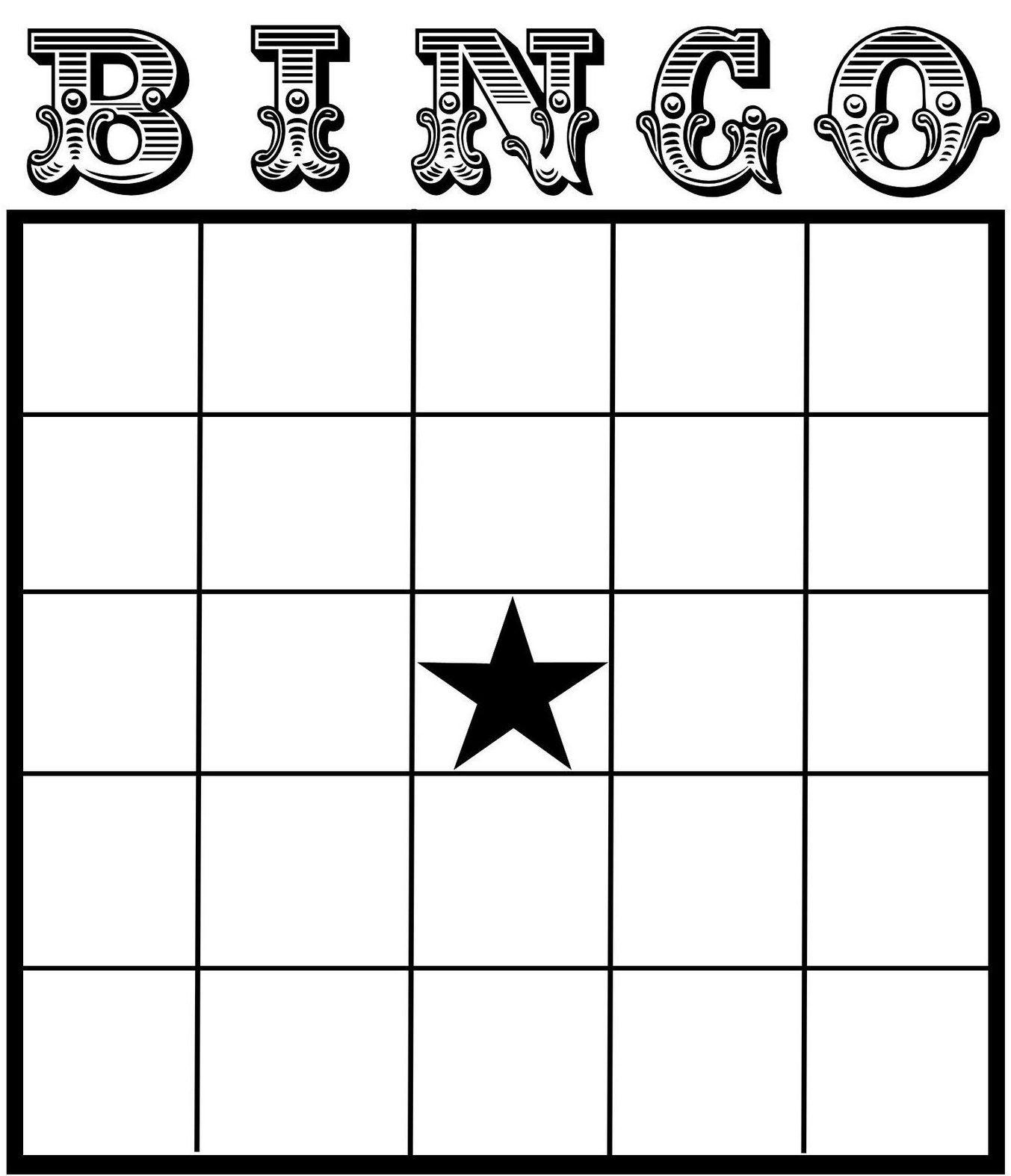 002 Blank Bingo Card Template Ideas Stupendous Free Templates - Free Printable Bingo Cards For Teachers