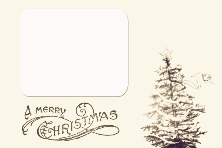 Free Printable Christmas Card Templates