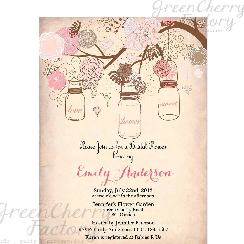 007 Mason Jar Invitation Template Outstanding Ideas Birthday Bridal - Free Printable Mason Jar Invitation Template