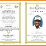 012 Free Printable Memorial Card Template New Obituary Word With   Free Printable Memorial Card Template