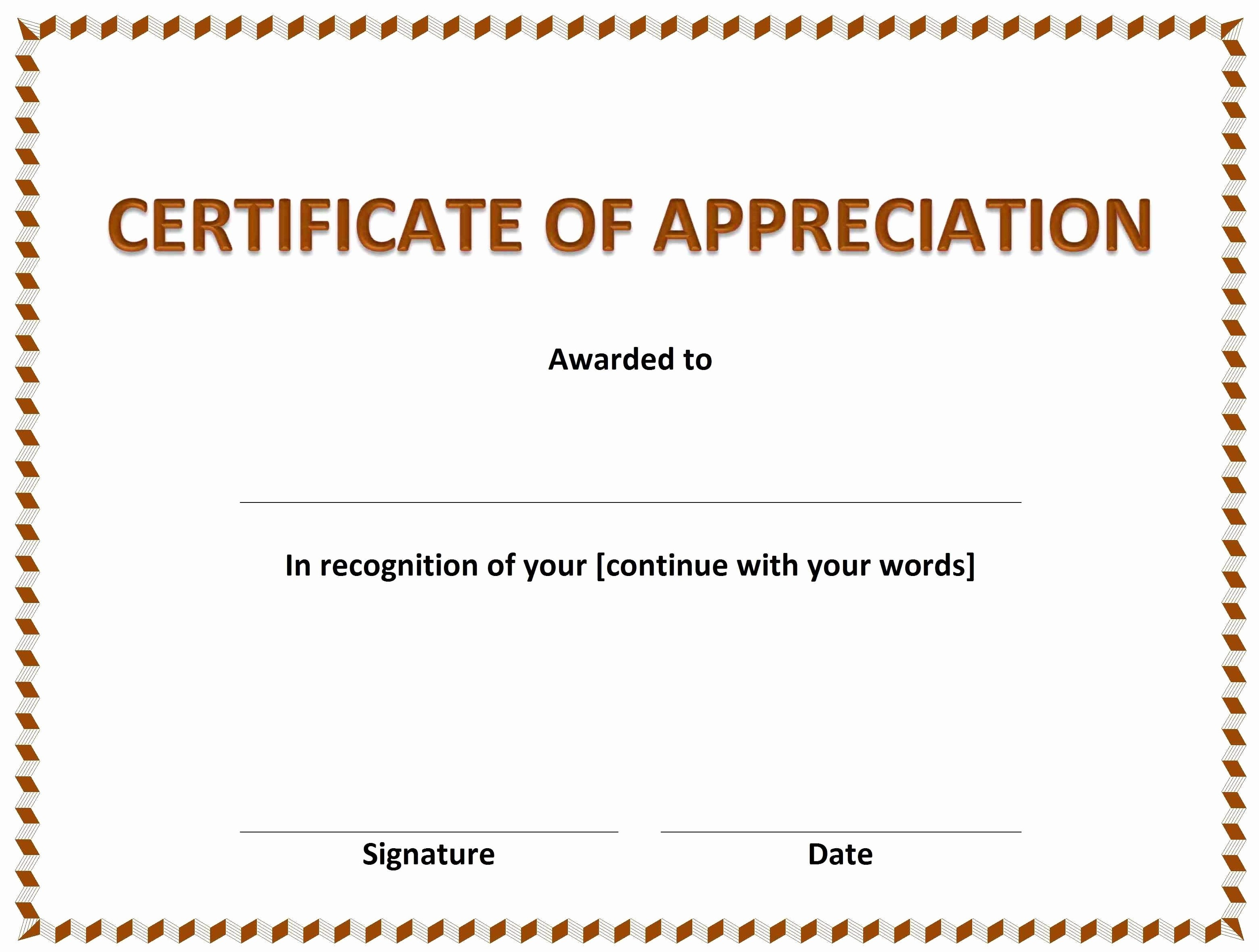 013 Certificates Of Appreciation Templates Printable Certificate - Free Printable Certificate Of Appreciation