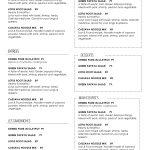 013 Template Ideas Free Printable Restaurant Menu Awful Templates   Free Online Printable Menu Maker