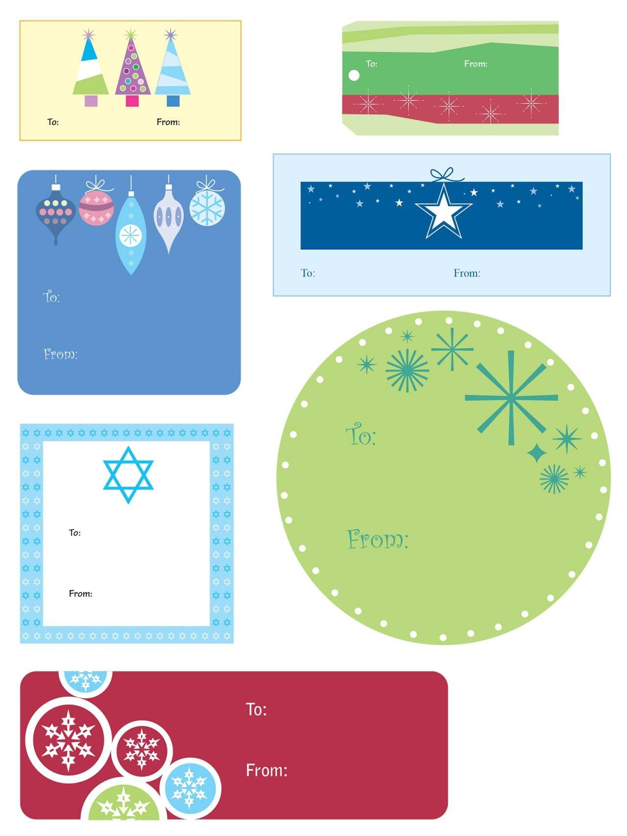 014 Free Printable Gift Tag Templates Template Ideas Amazing - Free Printable Gift Tags Templates