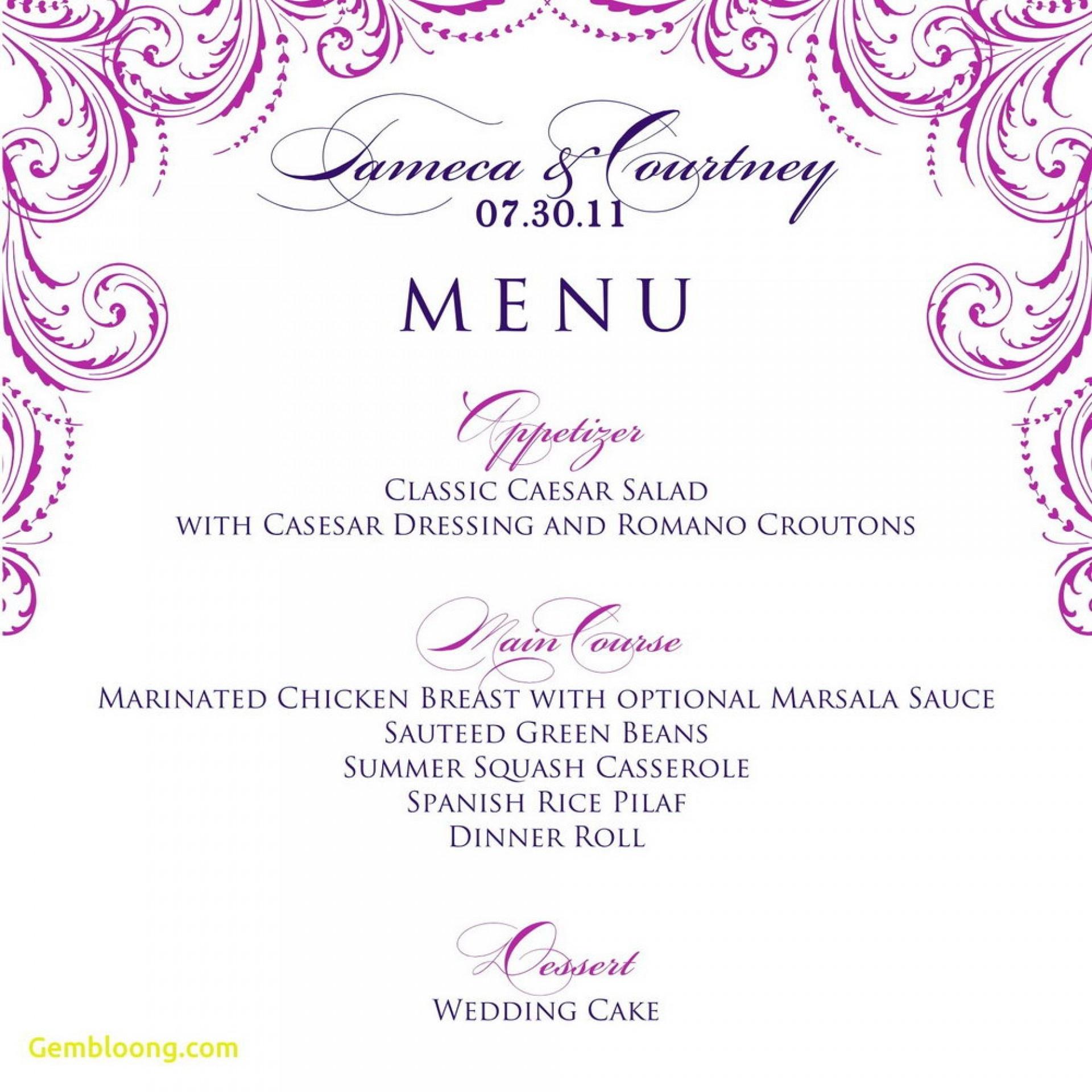 015 Template Ideas Dinner Menu Templates Free Amazing Marvelous - Free Printable Birthday Menu Templates