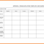 016 Plan Template Blank Lesson Plans Templates Free Printable   Free Printable Lesson Plan Template Blank