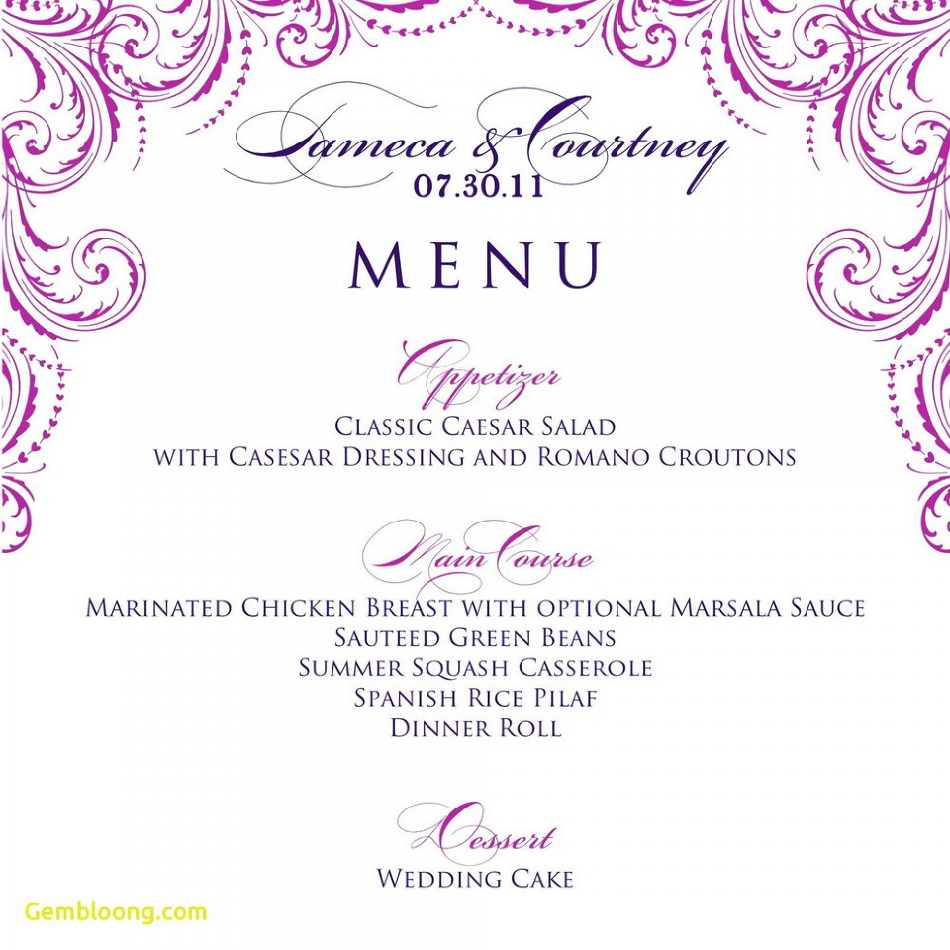 016 Template Ideas Free Printable Dinner Party Menu Marvelous - Free Printable Menu Templates
