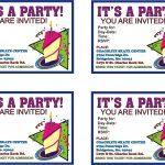 018 Birthday Invitation Templates Free Printable Template Fearsome   Free Printable Birthday Invitations