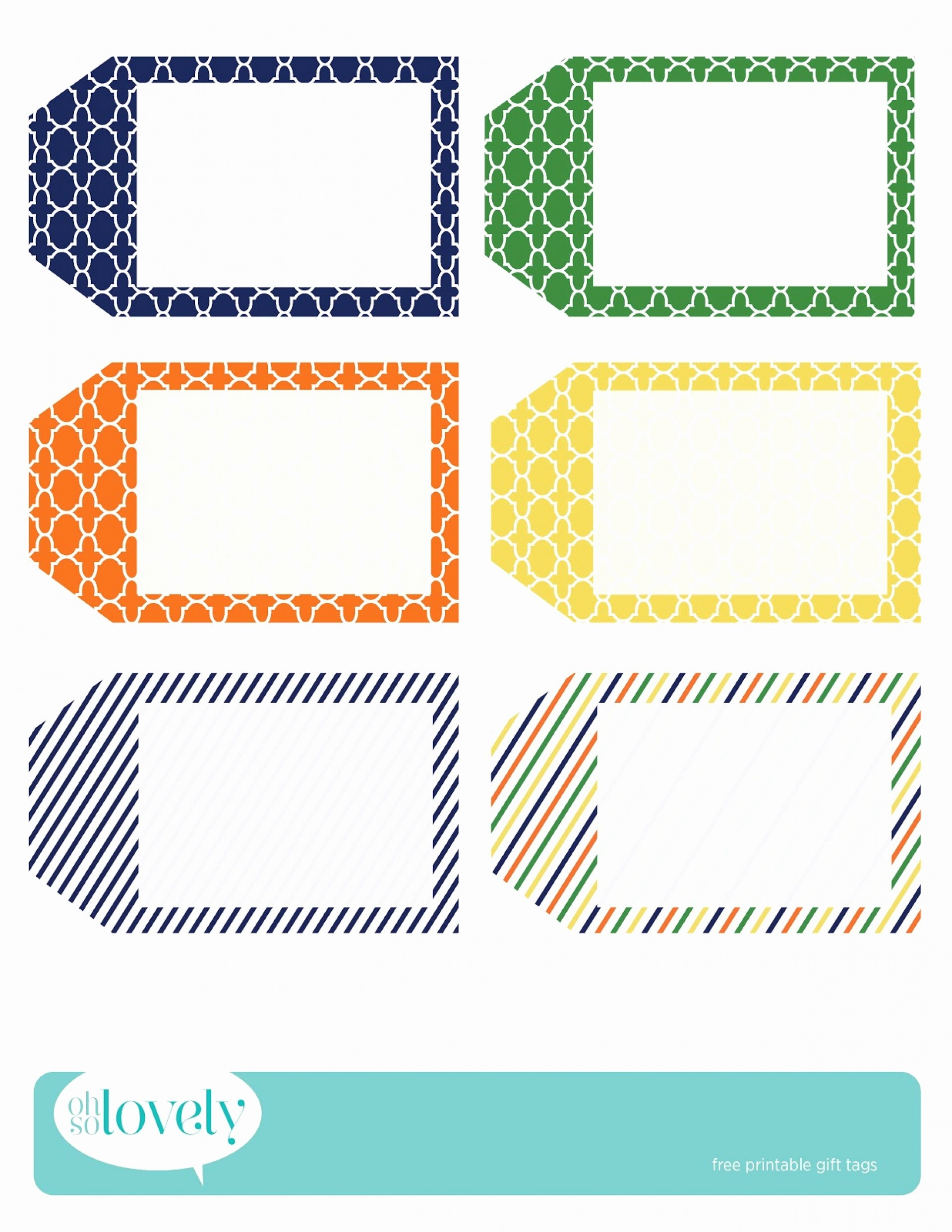 018 Free Printable Tag Templates Fresh Best Of Gift Tags With - Free Printable Birthday Tag Templates