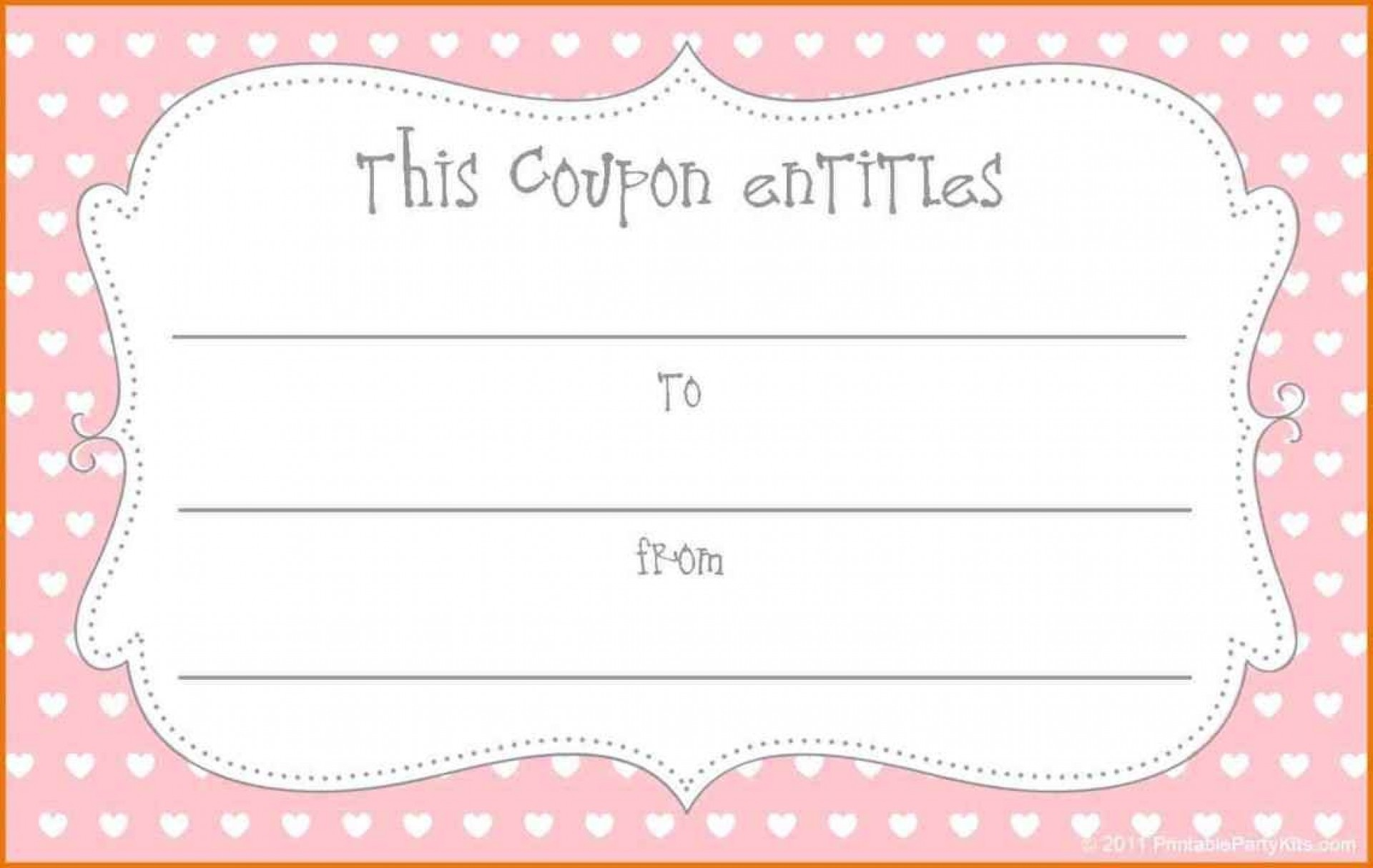 018 Make Your Own Coupon Template Ideas Free Printable Fantastic - Create Your Own Coupon Free Printable